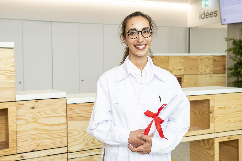 Dre Jasmine Abdulcadir, médecin adjointe agrégée au Service de gynécologie, Prix médecine et genre