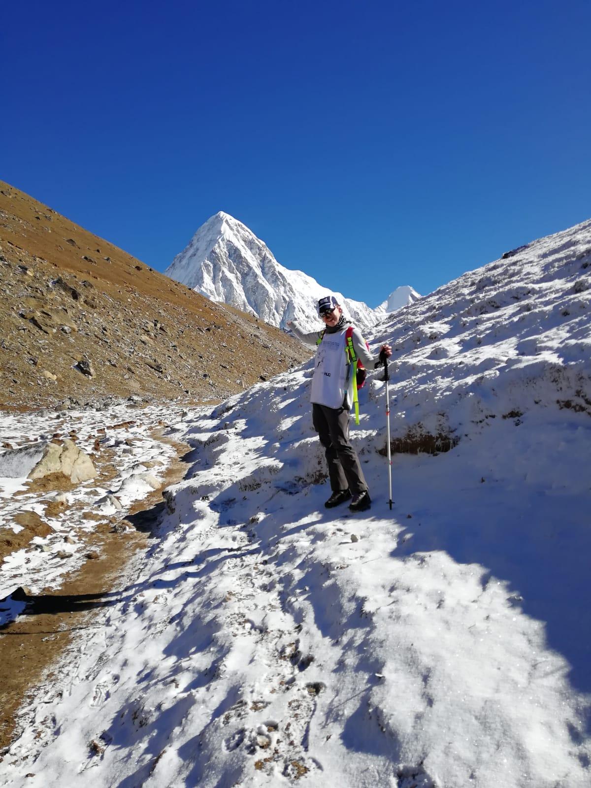 Handicap et ascension de l'Everest