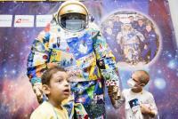 Spacesuit Art Project