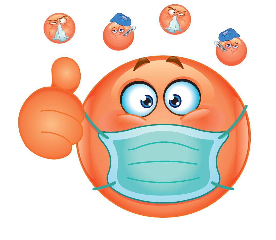 En portant un masque, nous protégeons les patients des virus de l'hiver