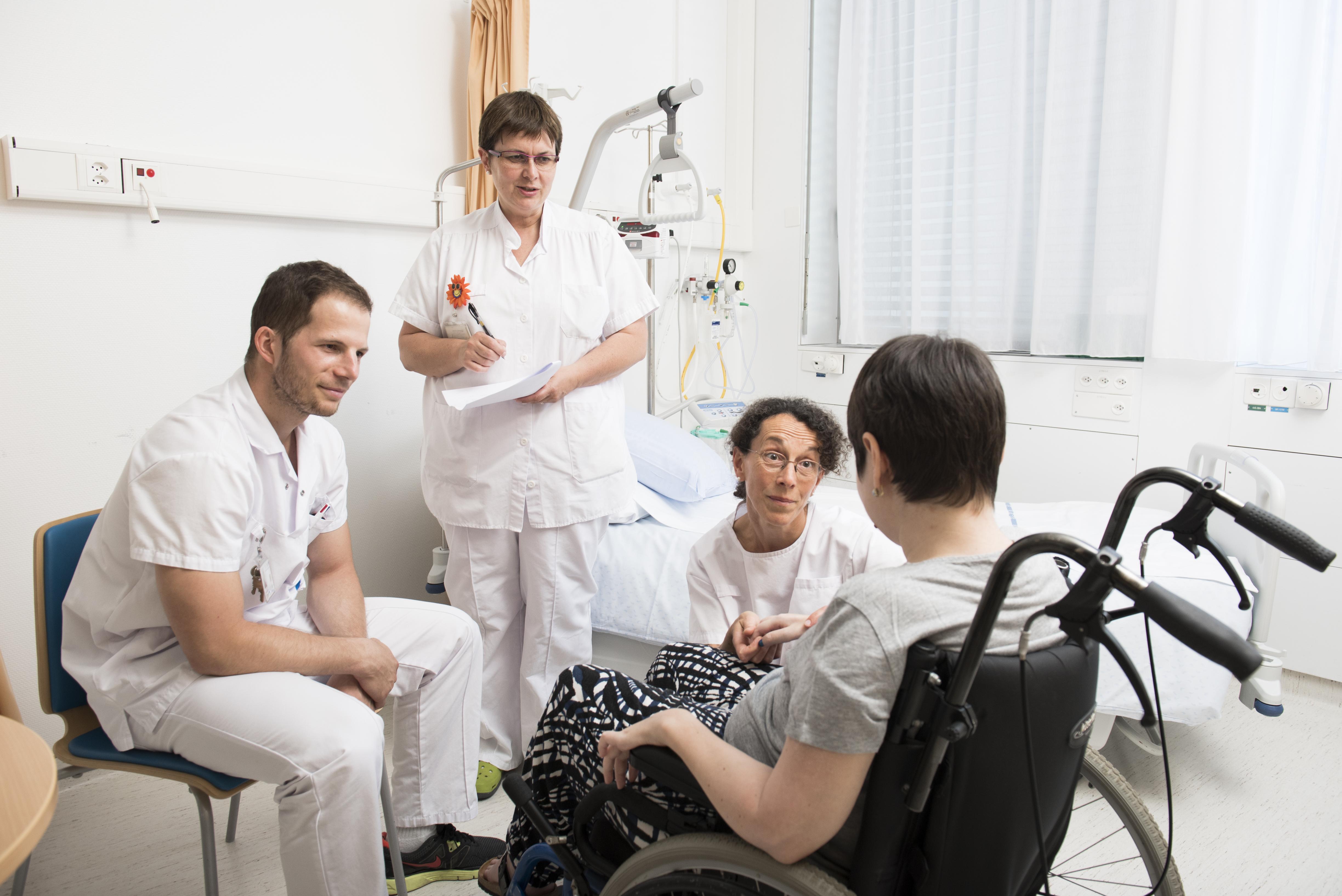 Adapter la prise en charge pour tenir compte du handicap de la personne