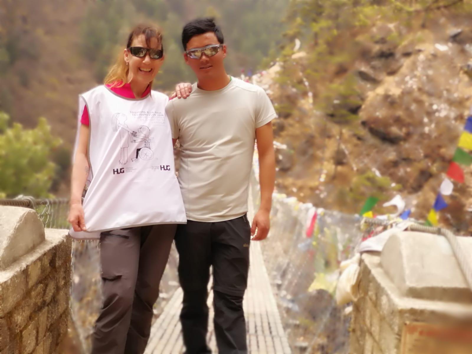 "05.04.2018 Namche bazaar""la Porte de l' Everest"""
