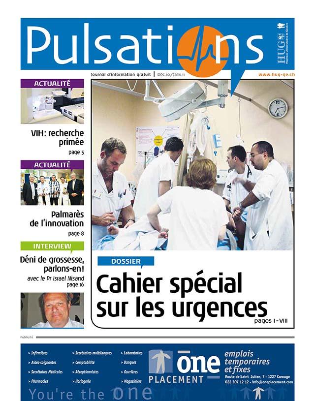 Pulsations Décembre 2010 / janvier 2011