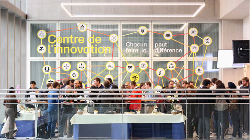 Inauguration du centre de l'innovation