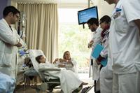 infirmière. médecins, interne et chefs de clinique