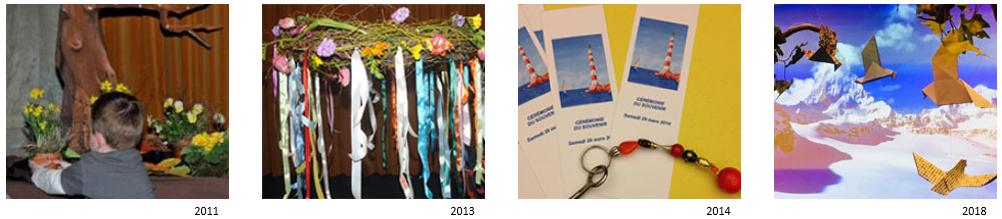 cérémonie du souvenir 2011 2013 2014 et 2015