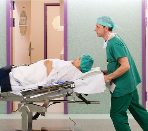 transfert du patient