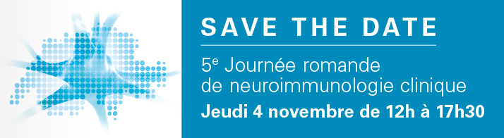 Save the date de la 5ème Journée romande de neuroimmunologie