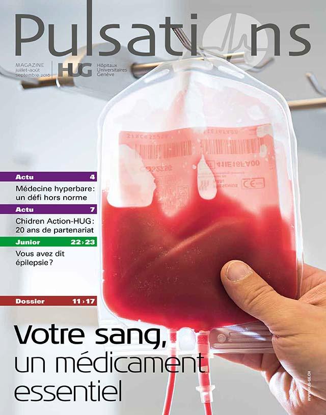 Pulsations Juillet / Août / Septembre 2016 à Genève aux HUG