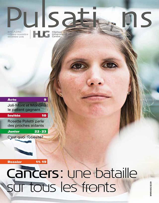 Pulsations Octobre / Novembre / Décembre 2016 à Genève aux HUG