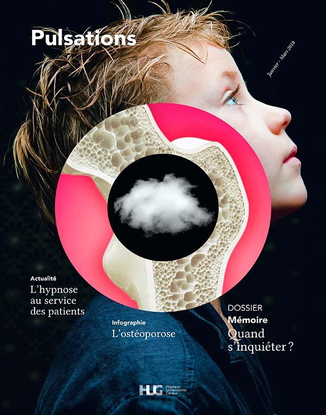 Pulsations magazine Janvier / Février / Mars à Genève aux HUG