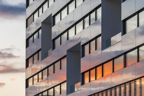 Nouveau bâtiment d'hospitalisation