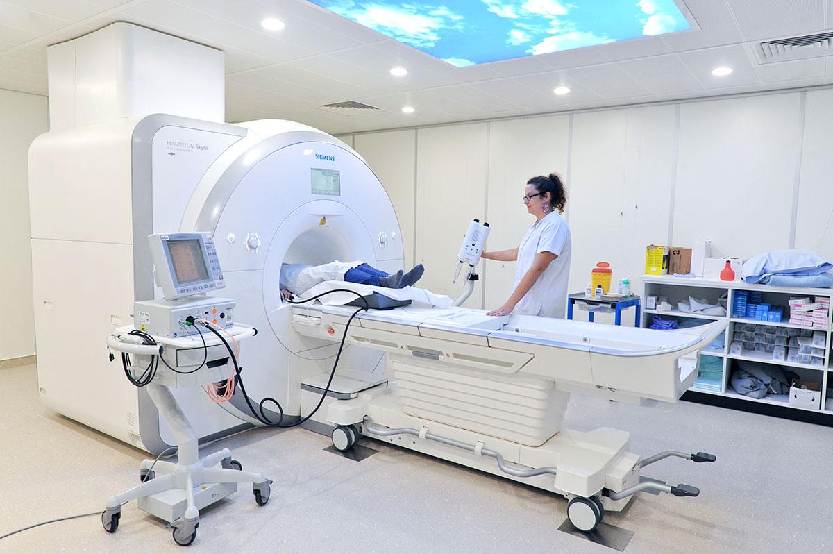 High-tech radiology at Trois-Chêne