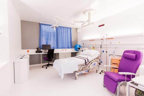 Nouvelle salle d'accouchement