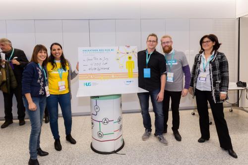 2e Hackathon des HUG en images