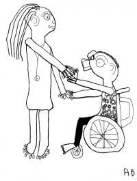 Bien accueilli avec votre handicap