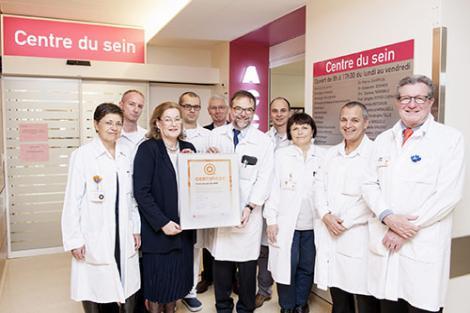 Label qualité - Cancer du sein à Genève aux HUG