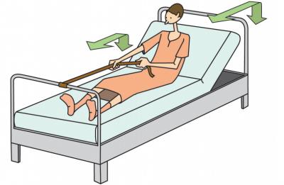 La sternotomie - Comment vous lever et vous coucher