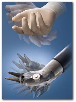 surgeon hand inst