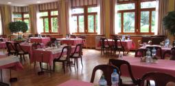 La salle à manger de la clinique Joli-Mont