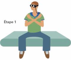 La manoeuvre de Toupet-Semont - étape 1