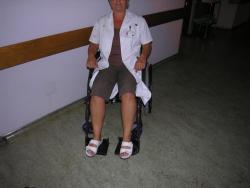 Positionnement au fauteuil