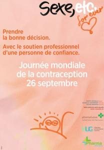 Journée mondiale de la contraception - 26 septembre 2017