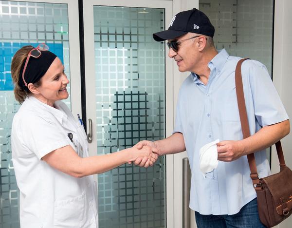 brochure Transplantation de cellules souches hématopoïétiques : Conseils pour réussir votre retour à domicile
