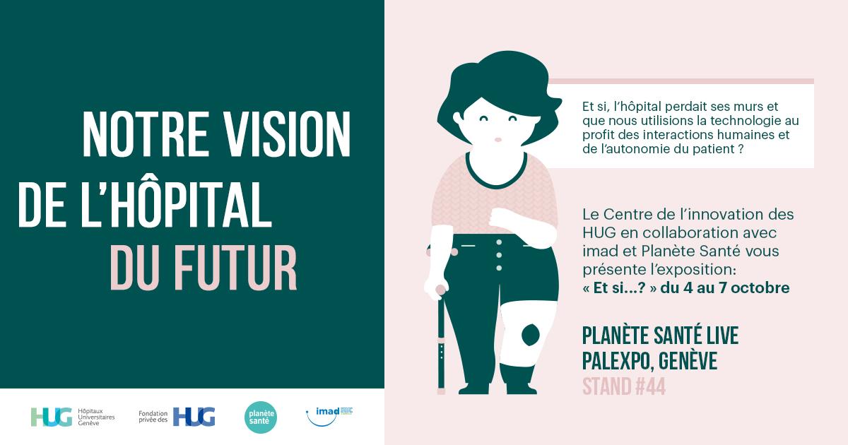 Notre vision de l'hôpital du futur