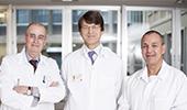 équipes des différents services qui font partie du Centre de la prostate