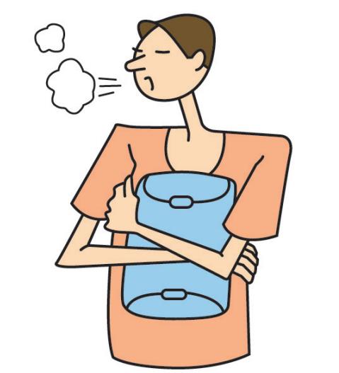 La sternotomie - Comment tousser ou éternuer