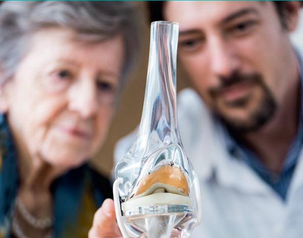 Brochure pour les patients : La prothèse totale de genou