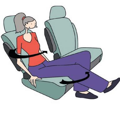 Position en voiture