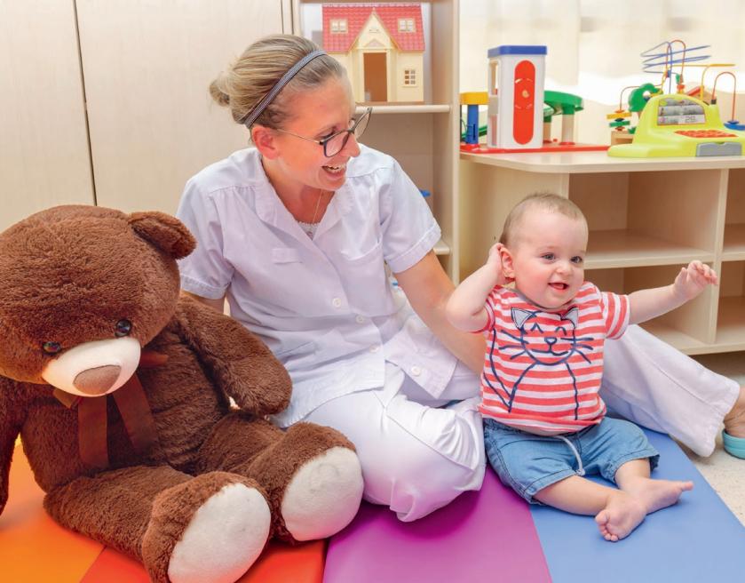 Brochure patients : bienvenue au service de chirurgie pédiatrique
