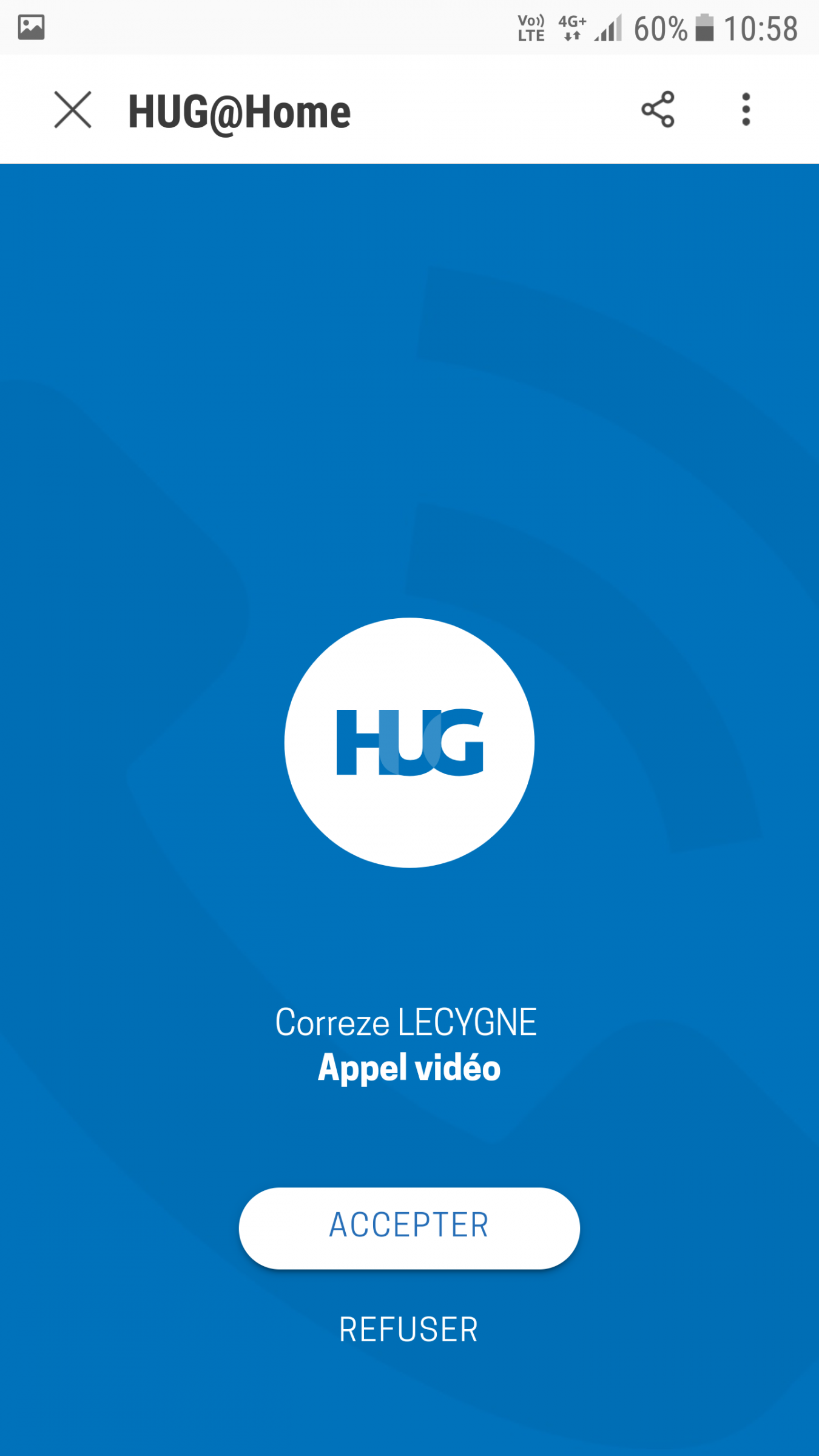 Application web - hug at home