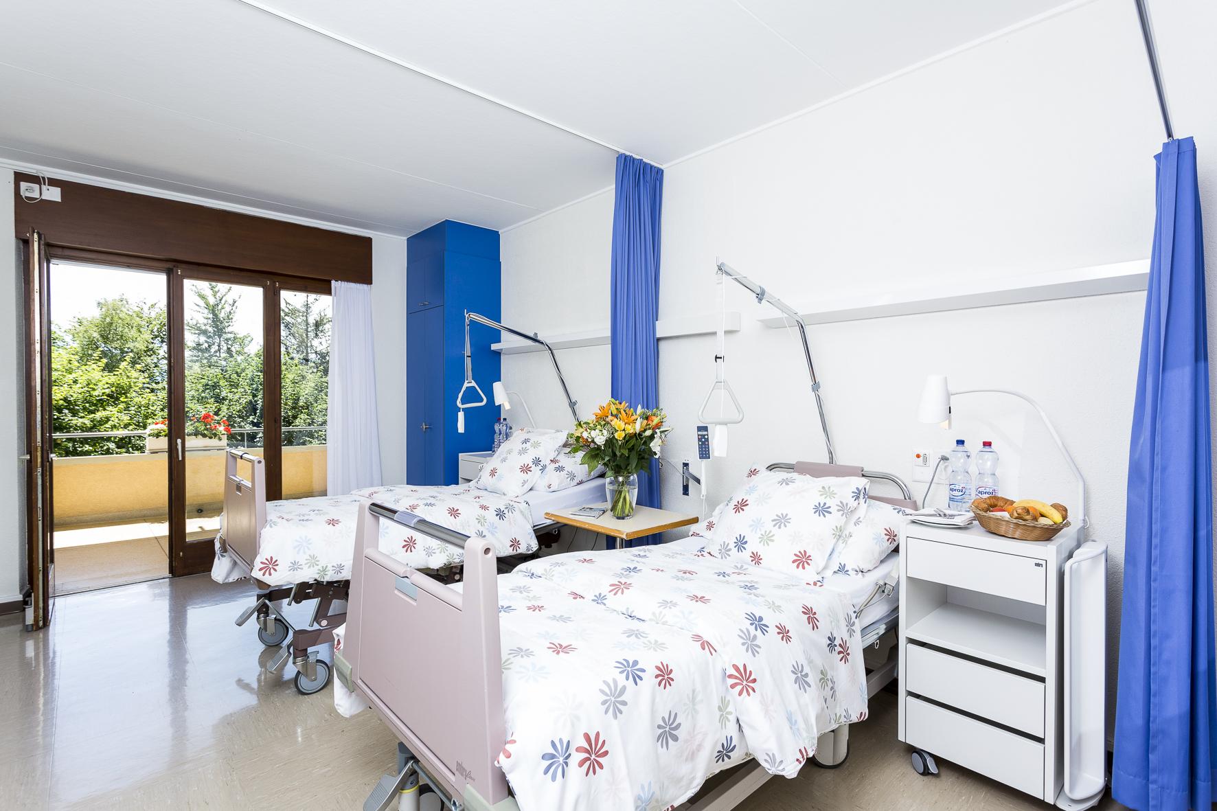 hospitalisation à la Clinique de Crans-Montana
