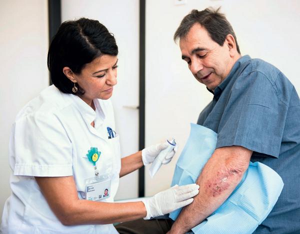 Brochure pour les patients - Le psoriasis