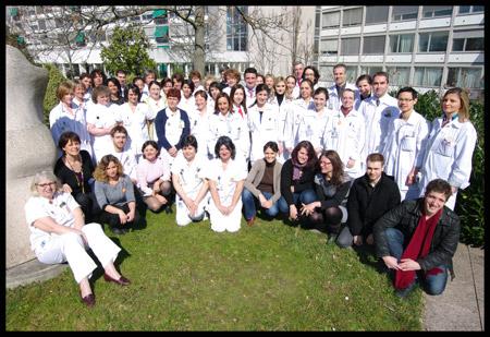 Infirmières de santé publique et service social