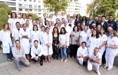 équipe dermatologie