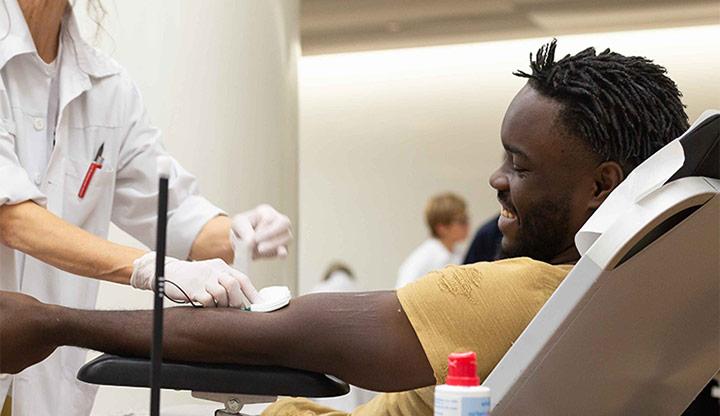 donner votre sang