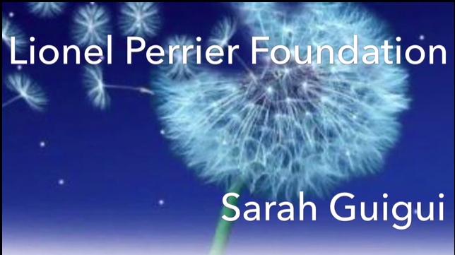 Hommage de Sarah à son oncle Lionel