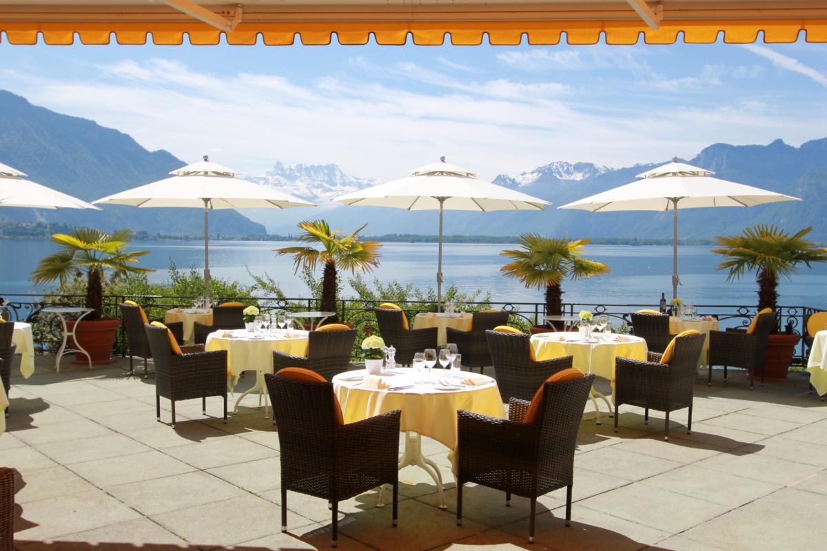 Repas automnal à l'hôtel Bon Port de Montreux