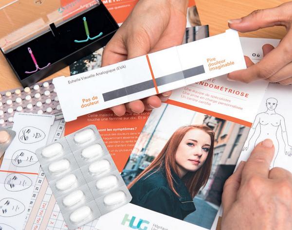 Brochure pour les patients : Soulager l'endométriose