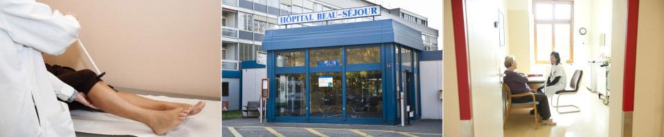 Médecine interne de réhabilitation Beau-Séjour
