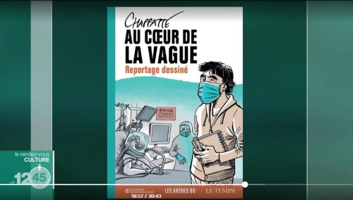 """Chapatte publie """"au coeur de la vague"""""""