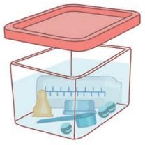 La stérilisation à froid - étape 1