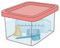 La stérilisation à froid - étape 2
