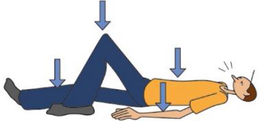 Exercices de tonification du tronc après uneintervention lombaire
