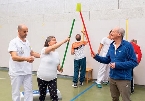 Maladie Parkinson-gym