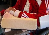 Ergothérapie Travail de l'installation et positionnement au lit et au fauteuil fauteuil
